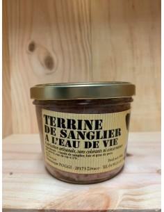 TERRINE DE SANGLIER 180G-CHARCUTERIE POGGI - Maison Ferrero - Epicerie à Ajaccio
