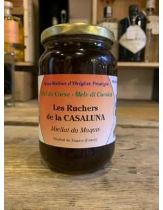 MIELLAT DE MAQUIS 500GR-LES RUCHERS DE CASALUNA - Maison Ferrero - Epicerie à Ajaccio