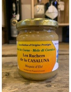 MIEL MAQUIS D'ETE 250GR-LES RUCHERS DE CASALUNA - Maison Ferrero - Epicerie à Ajaccio