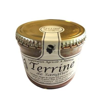 TERRINE DE SANGLIER 140GR-A MURESCA - Maison Ferrero - Epicerie à Ajaccio