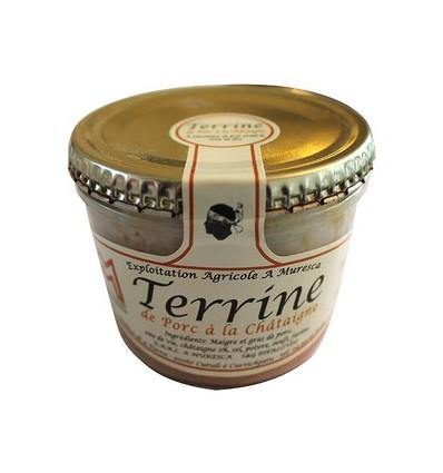 TERRINE A LA CHATAIGNE 140GR - A MURESCA - Maison Ferrero - Epicerie à Ajaccio