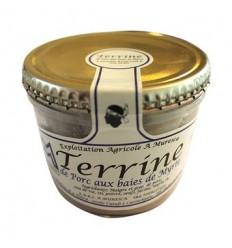 TERRINE AU BAIES DE MYRTE 140gr-A MURESCA - Maison Ferrero - Epicerie à Ajaccio