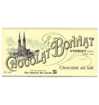 TABLETTE LAIT 100gr -BONNAT - Maison Ferrero - Epicerie à Ajaccio