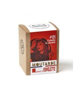 MOUTARDE COLETTE LA STARLETTE PIMENT ESPELETTE 180GR - - Maison Ferrero - Epicerie à Ajaccio
