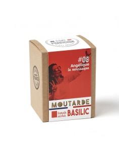 MOUTARDE ANGELIQUE LA NARCISSIQUE TOMATES SECHEES BASILIC 180GR - - Maison Ferrero - Epicerie à Ajaccio