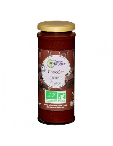 COULIS DE CHOCOLAT BIO 220GR - SAVEUR ATTITUDE - Maison Ferrero - Epicerie à Ajaccio