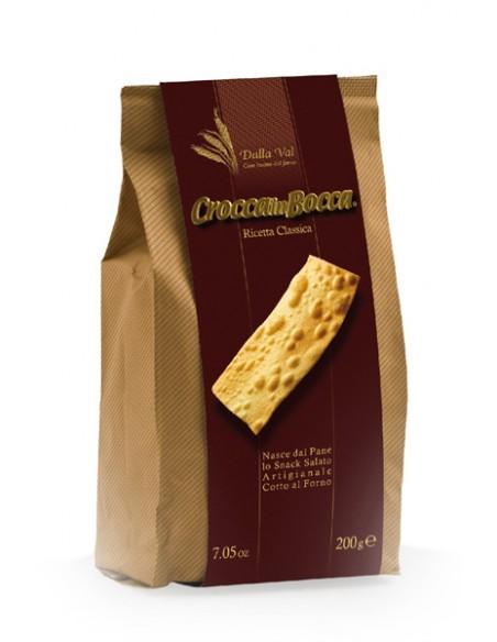 CRACKERS AU PARMESAN ITALIENS 150GR - CROCCA IN BOCCA - Maison Ferrero - Epicerie à Ajaccio
