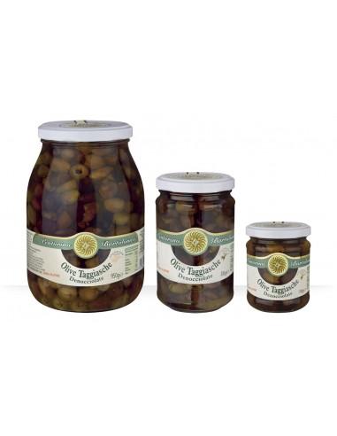 OLIVES TAGGIASCA DENOYAUTEES-950GR-BARTOLOMEO - Maison Ferrero - Epicerie à Ajaccio