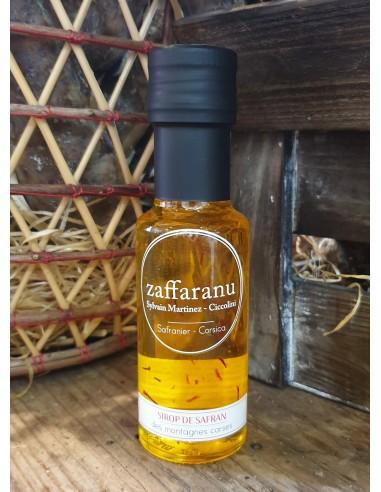 SIROP DE SAFRAN 10 CL-ZAFFARANU - Maison Ferrero - Epicerie à Ajaccio
