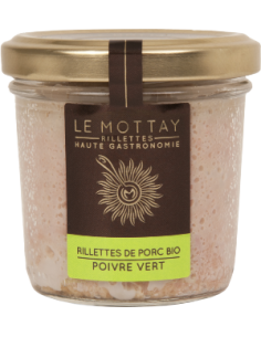RILLETTE PUR PORC BIO A L'ANANAS ET AU CURRY 90GR - LE MOTTAY GOURMAND - Maison Ferrero - Epicerie à Ajaccio