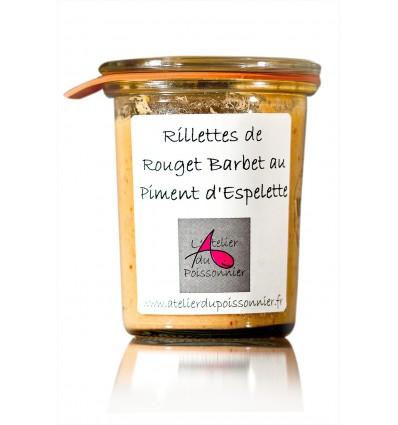 RILLETTES ROUGET BARBET PIMENT ESPELETTE