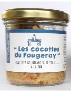 RILLETTE DE VOLAILLE A LA THAI 120GR - LE MOTTAY GOURMAND - Maison Ferrero - Epicerie à Ajaccio
