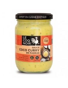 SAUCE CARI CURRY COCO 200GR - LE COQ NOIR - Maison Ferrero - Epicerie à Ajaccio