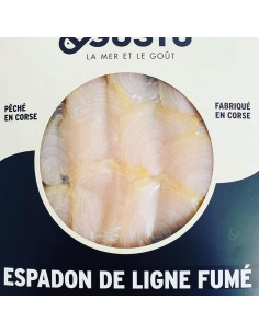 ESPADON DE LIGNE FUME TRANCHE 150GR - MARE E GUSTU - Maison Ferrero - Epicerie à Ajaccio