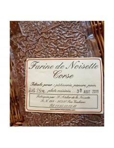 FARINE DE NOISETTE DE CERVIONE 250GR-ATELIER DE LA NOISETTE - Maison Ferrero - Epicerie à Ajaccio