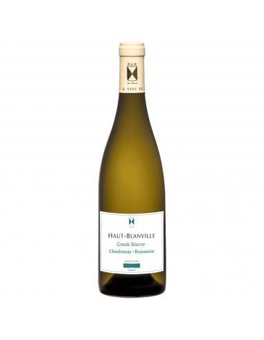 BLANC IGP Pays D'Oc Grande Réserve 75CL (Chardonnay/Roussanne ) 2018 Haut Blanville - Maison Ferrero - Epicerie à Ajaccio