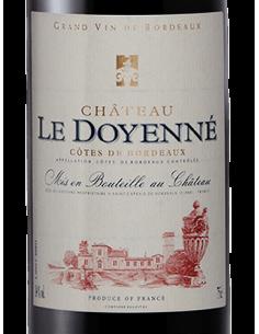 ROUGE Côtes de Bordeaux 2016 Château Le Doyenné 75CL - Maison Ferrero - Epicerie à Ajaccio