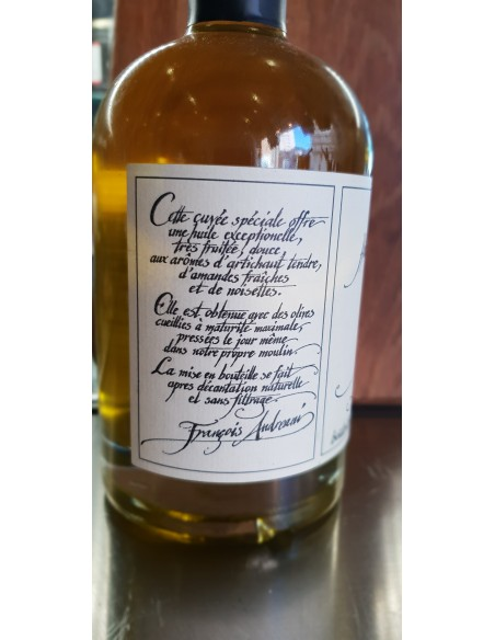 HUILE D'OLIVE CORSE A CATALINA 25CL CUVEE SPECIALE - ANDREANI FRANCOIS - Maison Ferrero - Epicerie à Ajaccio