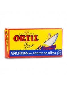 ANCHOIS BOITE JAUNE 47.5GR-ORTIZ - Maison Ferrero - Epicerie à Ajaccio