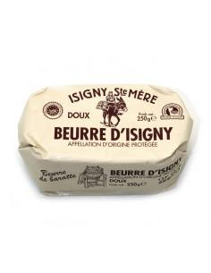 BEURRE DOUX DE BARATTE AOC ISIGNY 250 GR - Maison Ferrero - Epicerie à Ajaccio