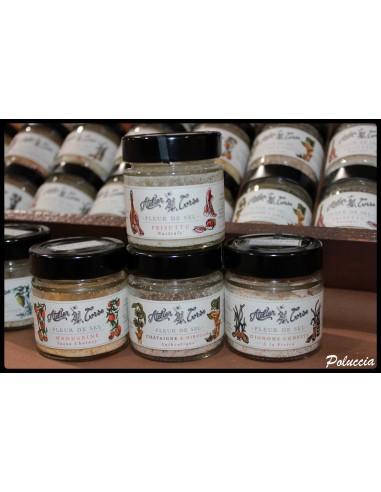 FLEUR DE SEL AU PIMENT 90GR -ATELIER CORSE - Maison Ferrero - Epicerie à Ajaccio
