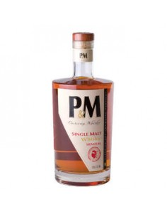 WHISKY PM SINGLE MALT SIGNATURE 70CL 42° -MAVELA - Maison Ferrero - Epicerie à Ajaccio