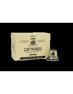CAFE EBENE 10 CAPSULES DE 58GR - CAP MUNDO - Maison Ferrero - Epicerie à Ajaccio