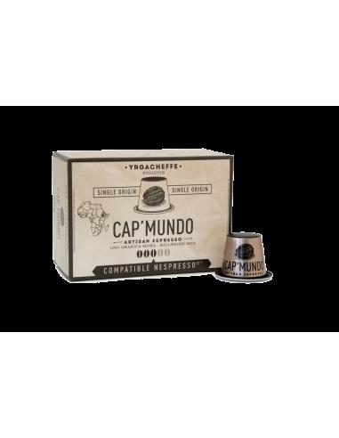 CAFE YRGACHEFFE 10 CAPSULES DE 58GR- CAP MUNDO - Maison Ferrero - Epicerie à Ajaccio