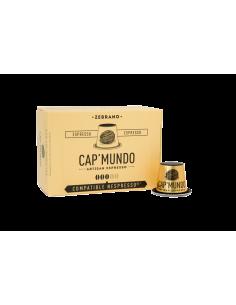 CAFE ZEBRANO 10 CAPSULES DE 58GR- CAP MUNDO - Maison Ferrero - Epicerie à Ajaccio