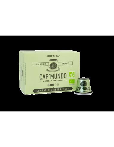 CAFE COPAIBA 10 CAPSULES DE 58GR - CAP MUNDO - Maison Ferrero - Epicerie à Ajaccio