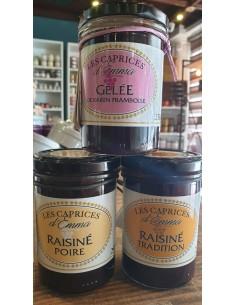 RAISINE CORSE POIRE 250GR- LES CAPRICES D'EMMA - Maison Ferrero - Epicerie à Ajaccio