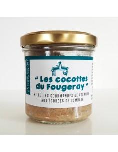 RILLETTE DE VOLAILLE AUX ECORCES DE COMBAVA 120GR - LE MOTTAY GOURMAND - Maison Ferrero - Epicerie à Ajaccio