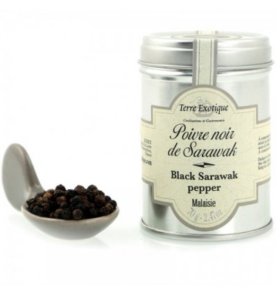 POIVRE DE SARAWAK NOIR- TERRE EXOTIQUE - Maison Ferrero - Epicerie à Ajaccio