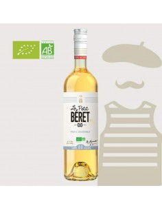 BLANC BIO 0% ALCOOL 75CL - LE PETIT BERET - Maison Ferrero - Epicerie à Ajaccio