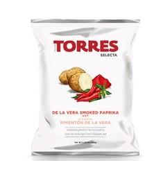 CHIPS AU PAPRIKA FUME PIMENTON DE LA VERA - PATATAS TORRES - Maison Ferrero - Epicerie à Ajaccio