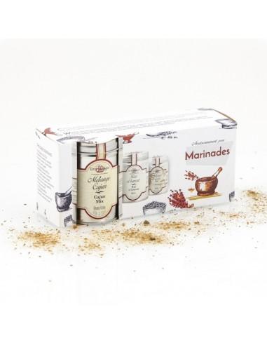 COFFRET MARINADES -TERRE EXOTIQUE - Maison Ferrero - Epicerie à Ajaccio