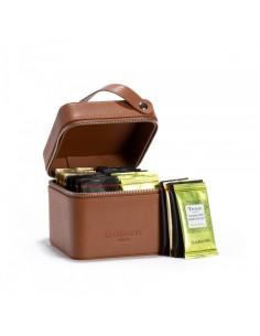 COFFRET THE ESCAPE CUIR 32 SACHETS- DAMMANN FRERES - Maison Ferrero - Epicerie à Ajaccio