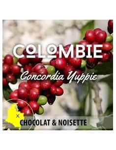 CAFE GRAIN COLOMBIE CONCORDIA YUPPIE 250G-PFAFF - Maison Ferrero - Epicerie à Ajaccio
