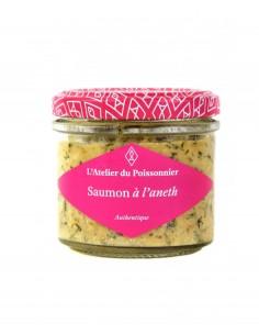 RILLETTES SAUMON A L'ANETH 90gr- ATELIER DU POISSONNIER - Maison Ferrero - Epicerie à Ajaccio