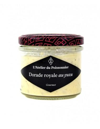RILLETTES DE DORADE ROYALE AU YUZU 90gr- ATELIER DU POISSONNIER - Maison Ferrero - Epicerie à Ajaccio
