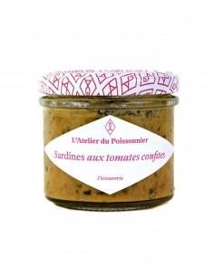 RILLETTES DE SARDINES AUX TOMATES CONFITES- ATELIER DU POISSONNIER - Maison Ferrero - Epicerie à Ajaccio