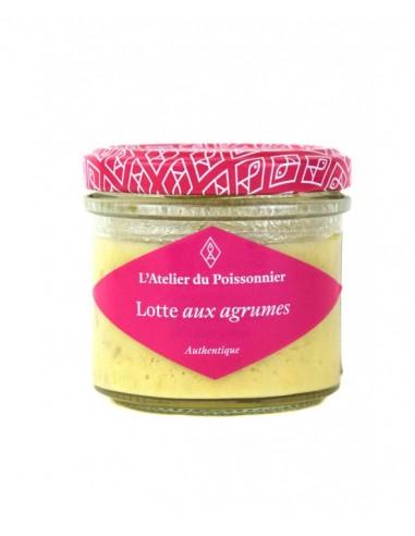 RILLETTES DE LOTTE AUX AGRUMES 90GR - ATELIER DU POISSONNIER - Maison Ferrero - Epicerie à Ajaccio