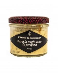 RILLETTES DE BAR A LA TRUFFE NOIRE DU PERIGORD 90GR - ATELIER DU POISSONNIER - Maison Ferrero - Epicerie à Ajaccio