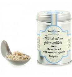 FLEUR DE SEL AU EPICES GRILLEES- TERRE EXOTIQUE - Maison Ferrero - Epicerie à Ajaccio