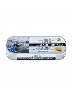FILETS DE MAQUEREAUX AU NATUREL ET CITRON BIO 176GR - JGONIDEC - Maison Ferrero - Epicerie à Ajaccio