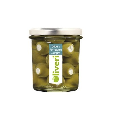 OLIVE FARCIE FROMAGE CHEVRE 180GR