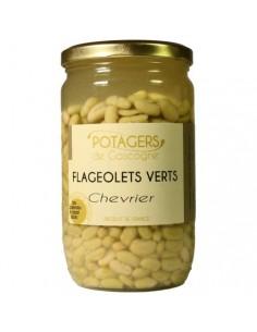FLAGEOLETS CHEVRIER 720ML-VERGERS DE CASCOGNE - Maison Ferrero - Epicerie à Ajaccio