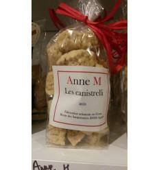 CANISTRELLI NOISETTE 125g - ANNE M - Maison Ferrero - Epicerie à Ajaccio