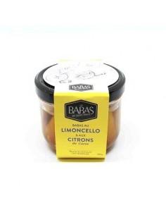 BABAS AU LIMONCELLO 380GR- LES BABAS DE SAINT MALO - Maison Ferrero - Epicerie à Ajaccio