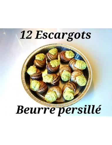 PLATEAU DE 12 ESCARGOTS AU BEURRE...